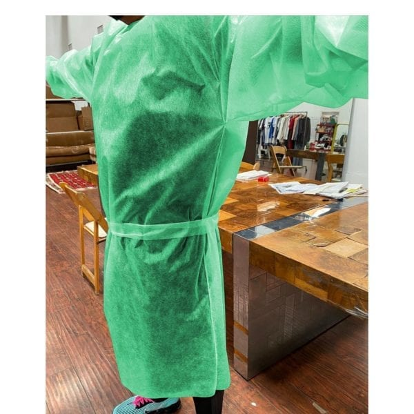 cover 19 protective gown